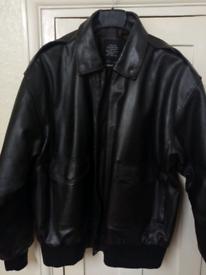 Leather flight jacket, Authentic Flight Tech A2