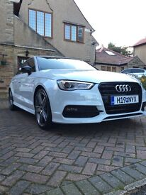 Audi A3 Saloon 2.0tdi S line black edition winterpack sat nav fully loaded **CHEAPEST IN UK**
