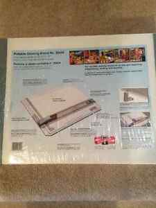 Portable Drawing Board with Rag Paper (brand new)