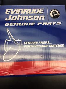 Helice moteur Evinrude Jonhson 10.3 x 12 aluminium