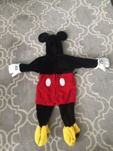 Mickey Mouse Toddler Costume for Halloween