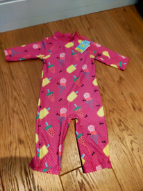 New sunsuit 3/4 years old