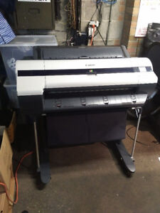 Canon iPF 605 wide format printer /plotter for sale.