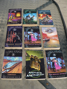 THE NEW ADVENTURES NA-SCIENCE FICTION ( 9 books $ 4.00 each )