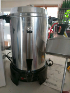 West Bend 55 cup / 9 litre commercial coffee machine