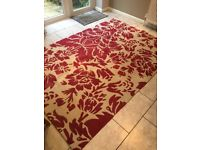 Large Marks and Spencer 100% wool rug
