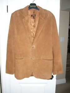 Danier Suede Leather Sportcoat/Blazer - Size XL (NEW)