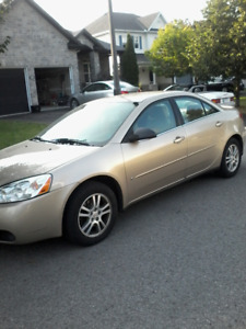 2006 PONTIAC G6 CERTIFIED ETESTED 56000K SENIOR LADY DRIVEN