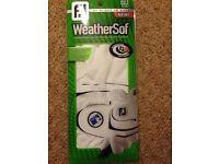 Footjoy Men's RH golf glove