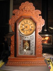 Ansonia Kitchen Gingerbread clock