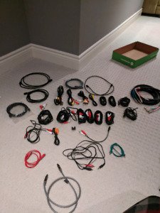 Lot of Cables