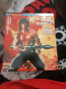 Rambo first blood part 2 (2disks)rare
