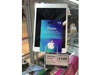 Apple iPad mini v1 16gb with warranty wifi only