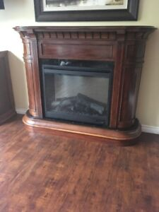 Large Electric Fireplace $200.00 OBO