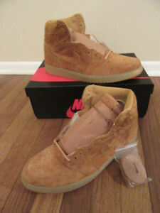 Jordan 1 Retro High wheat golden harvest flax deadstock size 9.5