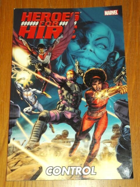 HEROES FOR HIRE CONTROL MARVEL MISTY KNIGHT GRAPHIC NOVEL<9780785155812