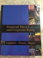 Financial Theory and Corporate Policy 4th Edition