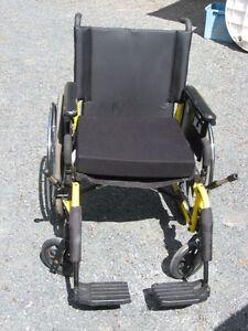 Wide Wheel Chair
