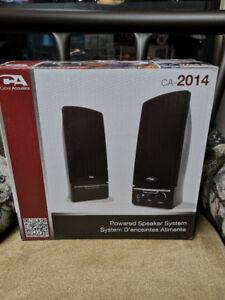 Haut-Parleurs RMS Cyber Acoustics CA-2014 RMS Speakers