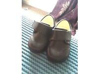 Infant size 5 black shoes