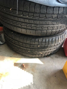 """20"""" Factory Ford Chrome Wheels with Tires"""