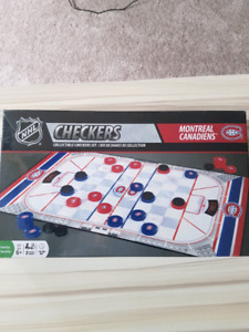 Montreal Canadiens Checkers
