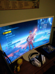"32"" Samsung Curved Monitor 1080p"