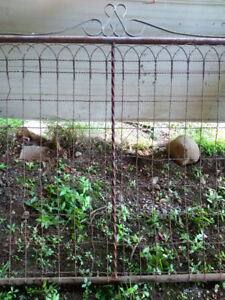 ANTIQUE FARM FENCE GATE (4 total)
