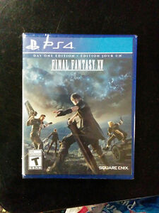 [FF15] Final Fantasy 15 Day One for PS4 - SEALED