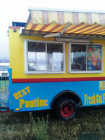 Food/Chip Truck for Parts or Repair.
