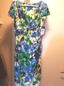 Ralph Lauren Floral Dress Size 12 (brand new with tag)