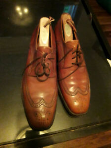 Size 10US Barker leather brogues, dress shoes