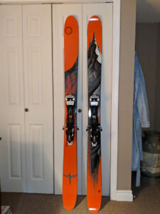 Line Magnum Opus with Marker Baron Touring Bindings