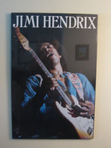 JIMI HENDRIX POSTER and other