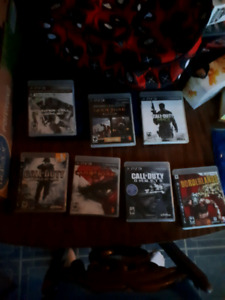 Ps3 Games. Good Condition.