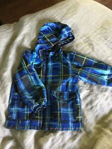 Lined fall jacket size 4T