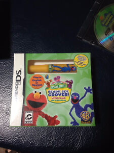 Sesame Street: Ready, Set, Grover Nintendo DS, 2011 factory seal