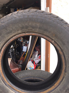 Very good condition winter tires for sale
