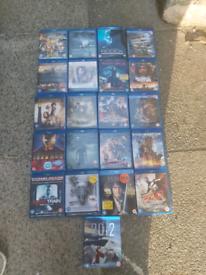 Job lot blue ray dvds