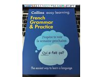Collins French grammar and practice.