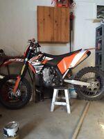 Motocross sxf 450 2007