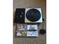 DJ Hero 1&2 with Decks