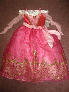 NEW Authentic Disney Princess Aurora dress size 10 costume