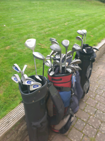 Bundles of Second Hand Golf Clubs and Bags available - Open to offers