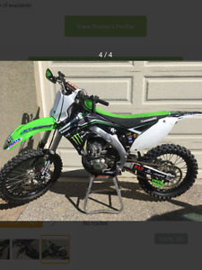 Kx 450 well maintained