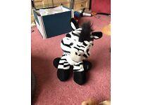 Zebra soft toy