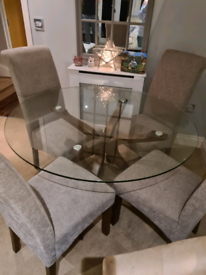 Dunelm Dining Table and Chairs