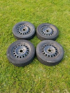 Winter tires on rims 205/55 R16