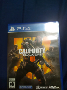 call of duty Black ops 4 ($40) i will aslo trade