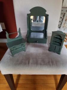 Wooden Made Art Decor Miniature Set